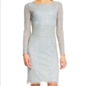 Ice blue Adrianna Papell dress
